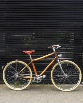 Man Bamboo Bike