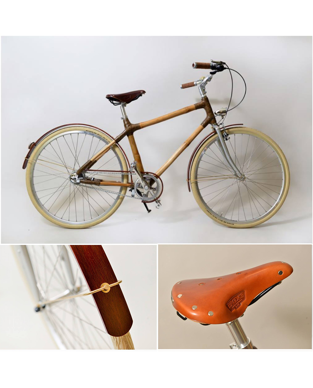 Woman Bamboo Bike
