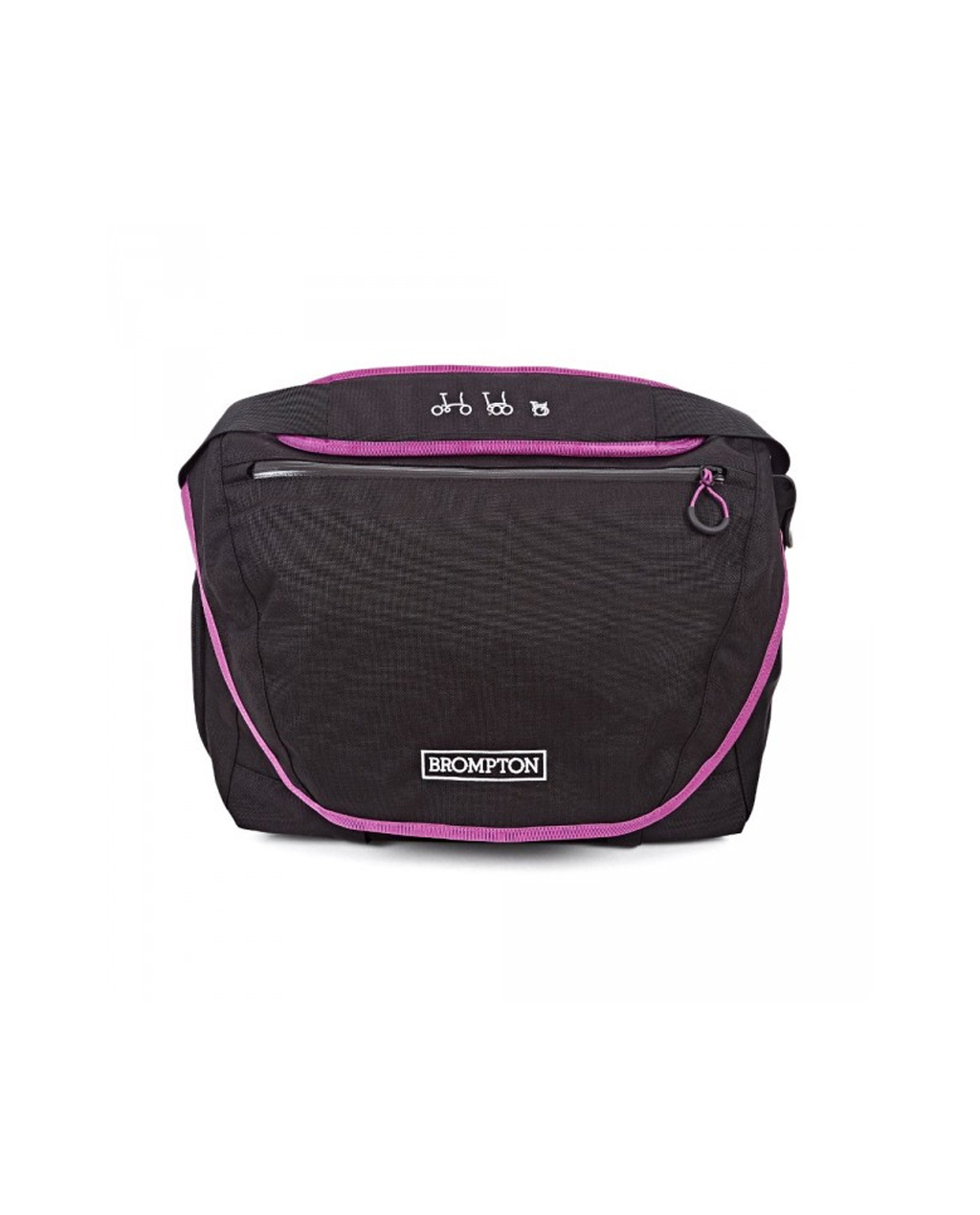 Q-Parts - C Bag Black/Berry Crush