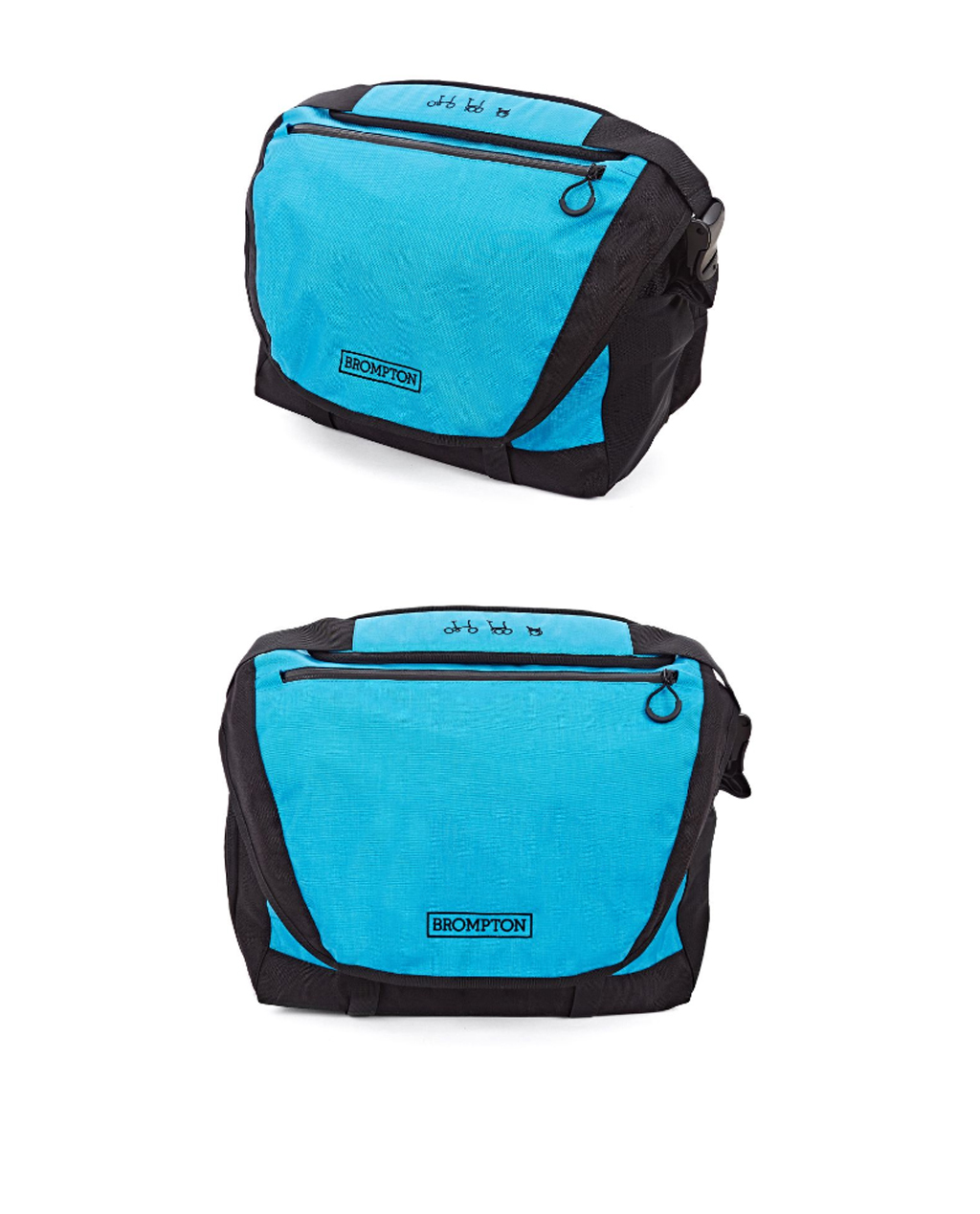 Q-Parts - C Bag Black/Lagoon Blue