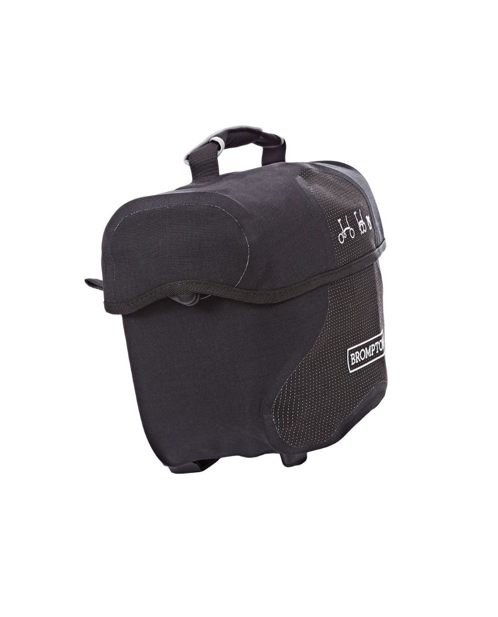 Q-Parts - Mini O Bag - Black Reflective