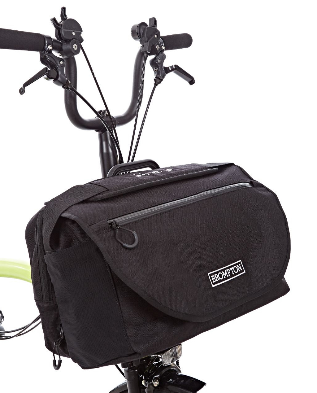Q-Parts - Brompton S Bag Black/Black Flap