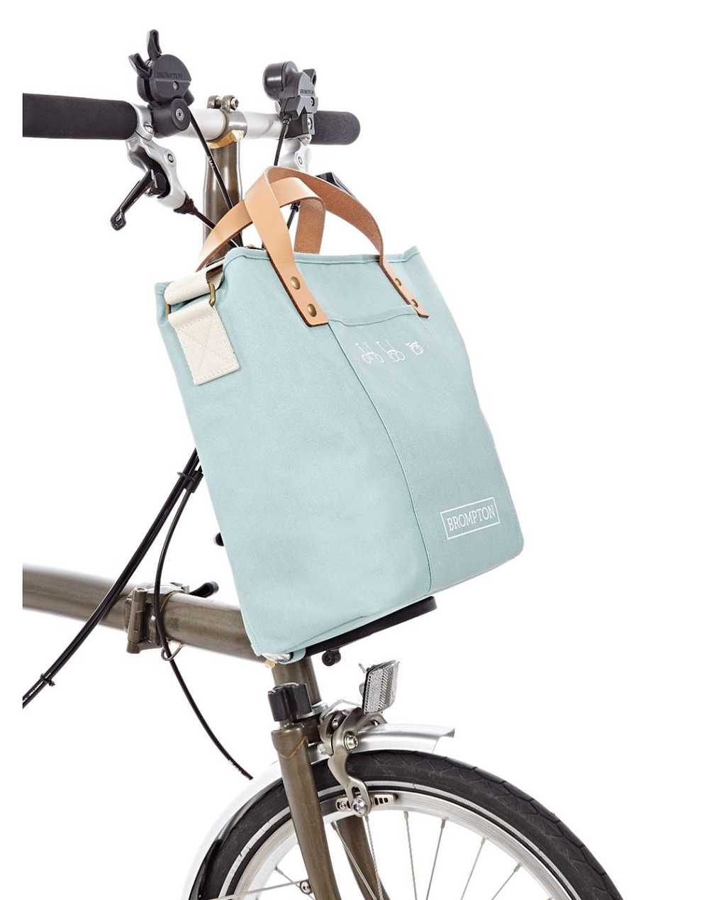 Q-Parts - Brompton Tote Bag - Turkish Green