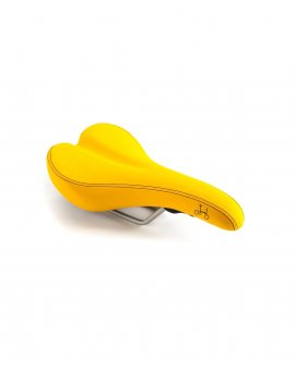Q-Parts - Brompton Saddle - Yellow