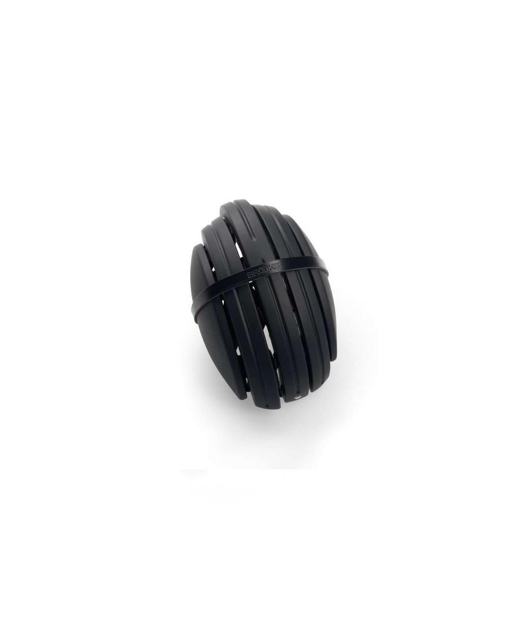 Brooks - Carrera Foldable Helmet - Black / Black