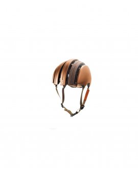 Brooks - Carrera Foldable Helmet - Copper / Brown Prince of Wales