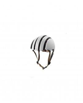 Brooks - Carrera Foldable Helmet - Ivory / Black