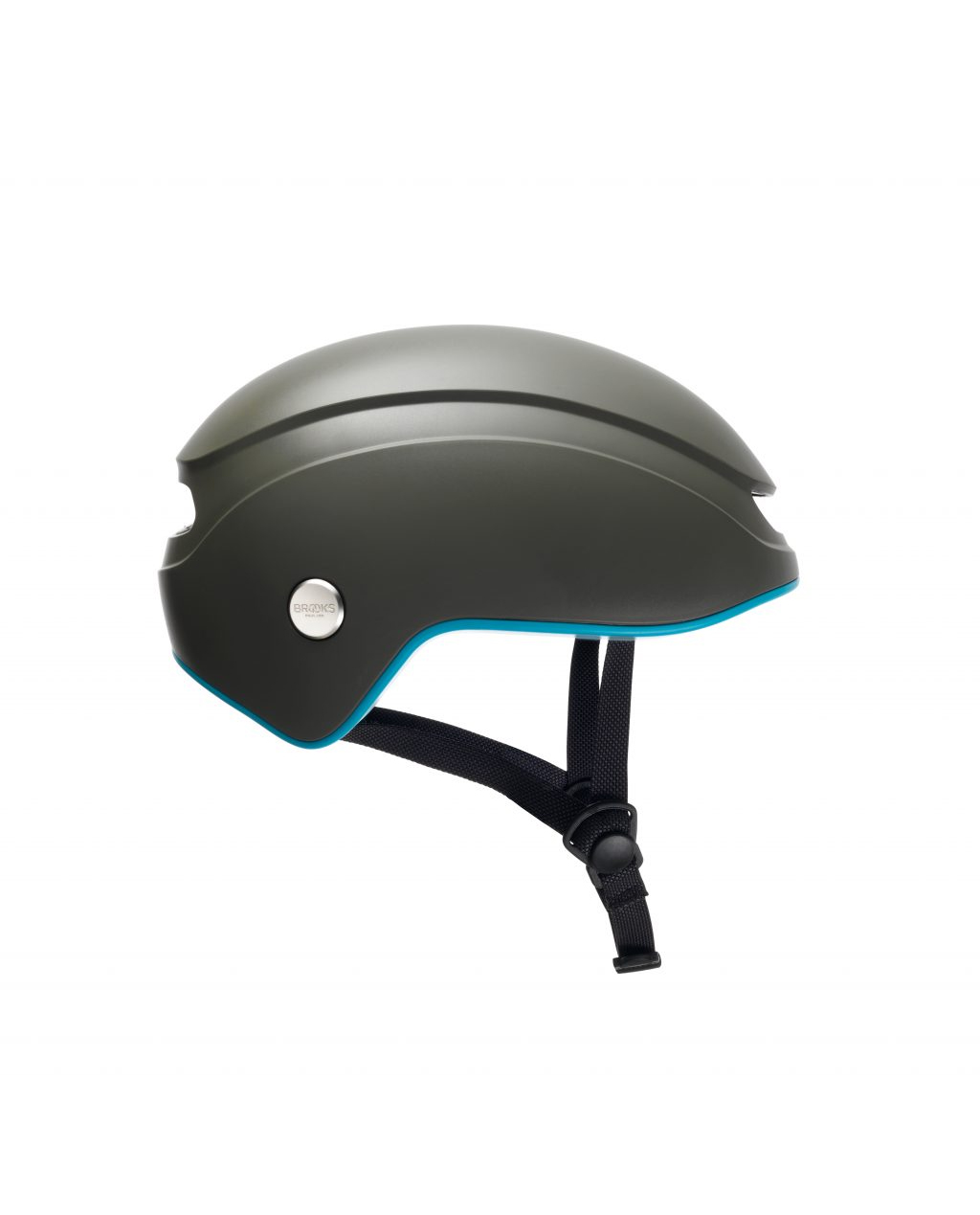 Brooks Urban Island Helmet - Mud / Sky Blue