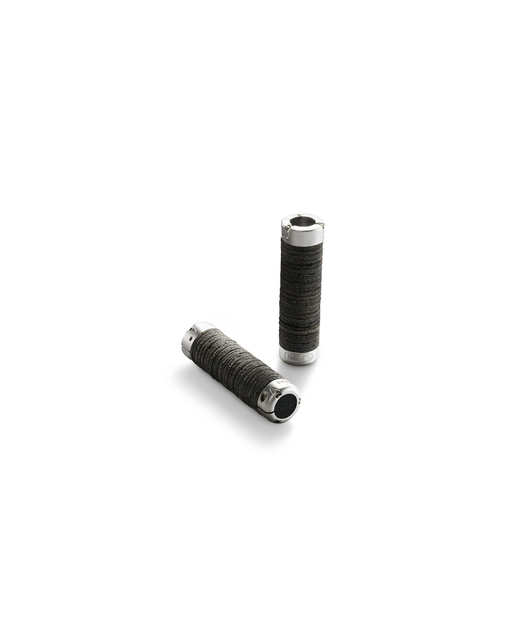 Brooks Plump Leather Grips - Black