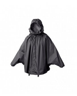 Brooks CAMBRIDGE STOWABLE RAIN CAPE - Black
