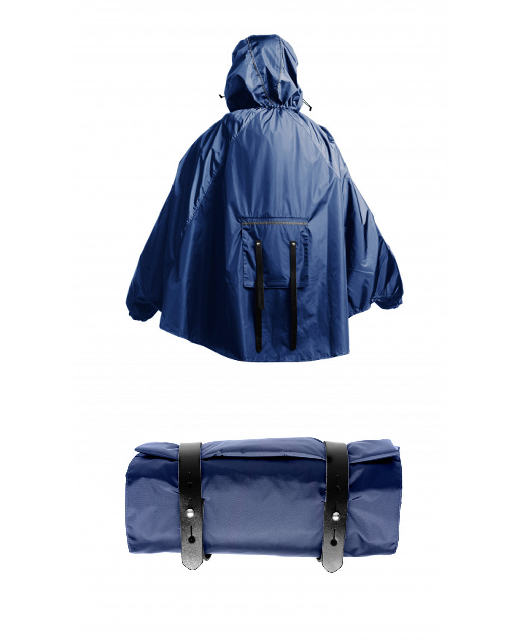 Brooks CAMBRIDGE STOWABLE RAIN CAPE - Blue