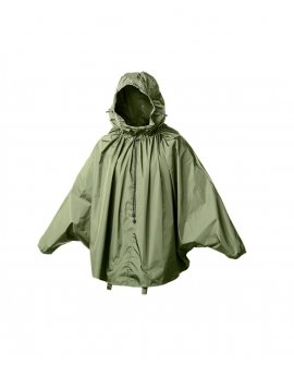 Brooks CAMBRIDGE STOWABLE RAIN CAPE - Olive