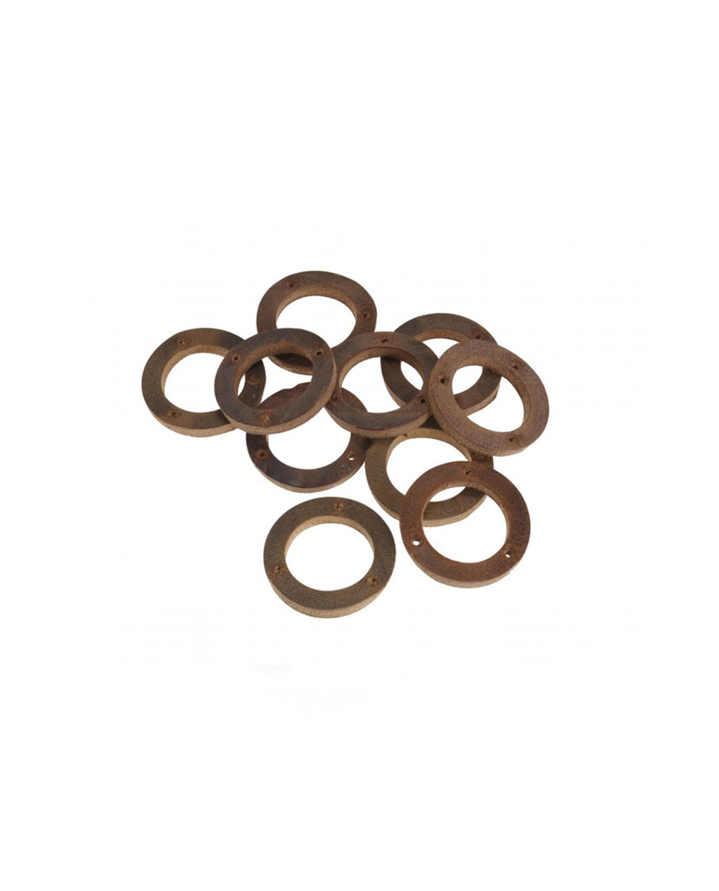 Brooks Aged Leather Ring for Handlebar Grip (10 pieces) - BYB 334