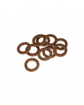 Brooks Honey Leather Ring for Handlebar Grip (10 pieces) - BYB 332