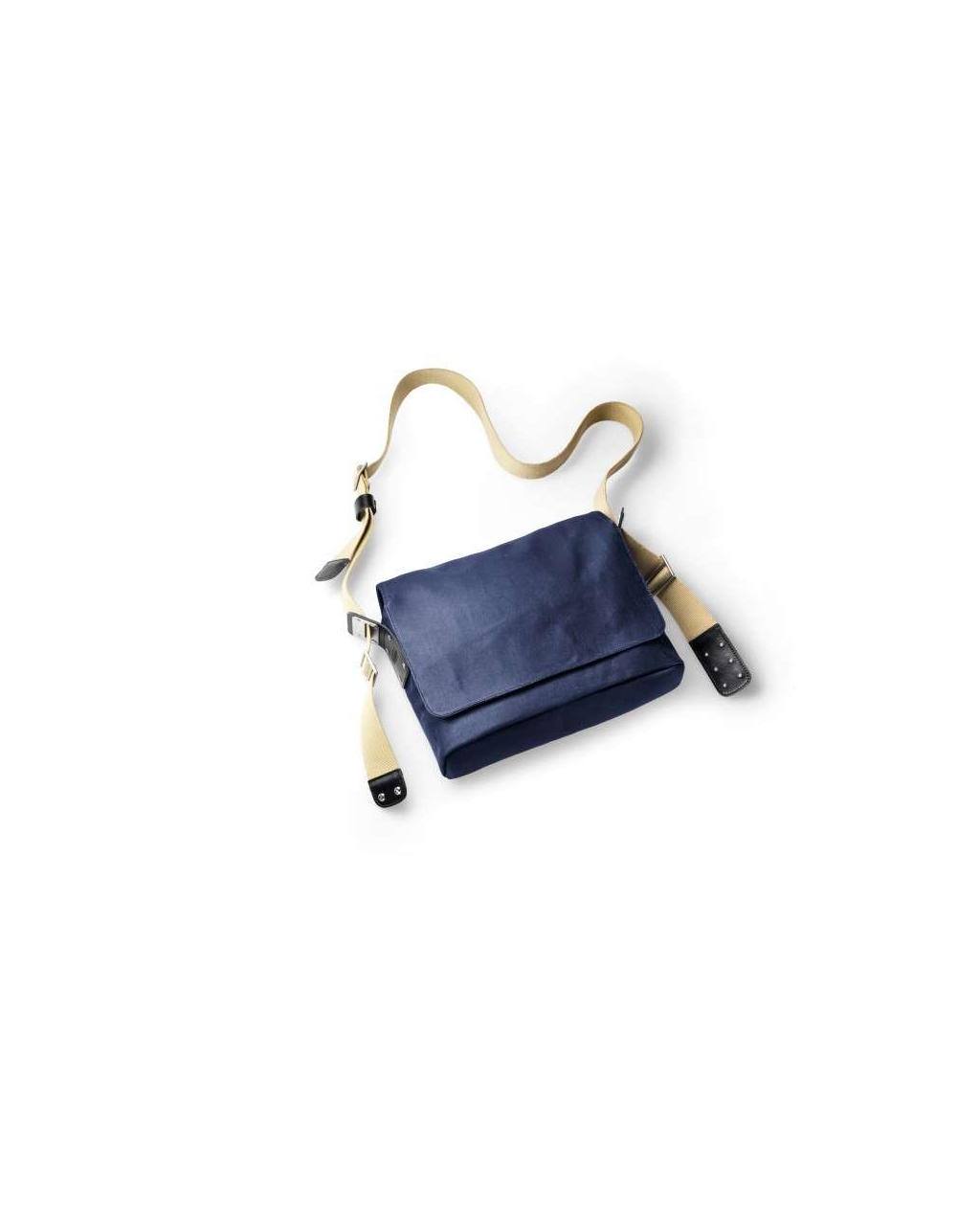 Brooks Paddington Shoulder Bag Canvas - Dark Blue / Black