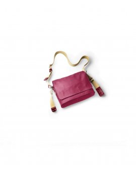 Brooks Paddington Shoulder Bag Canvas - Chianti / Maroon