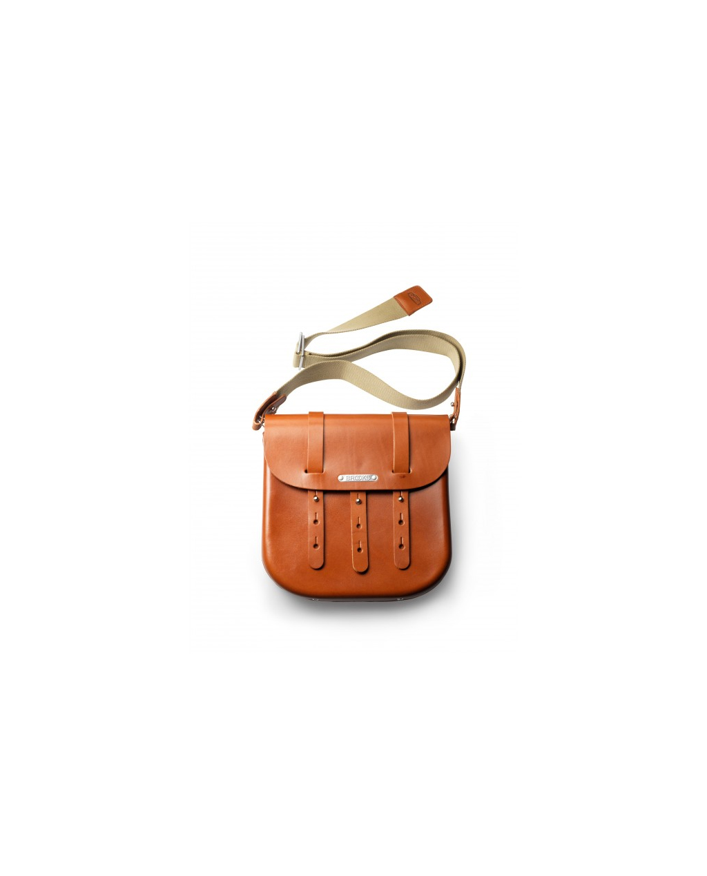 Brooks B3 Leather Bag - Honey