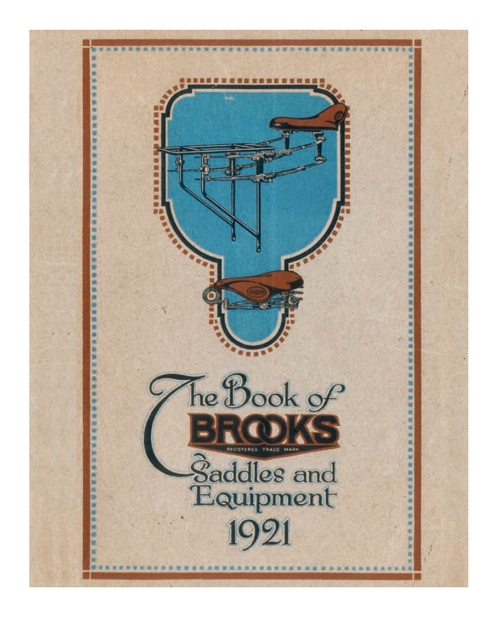 THE BROOKS BOOK 1921