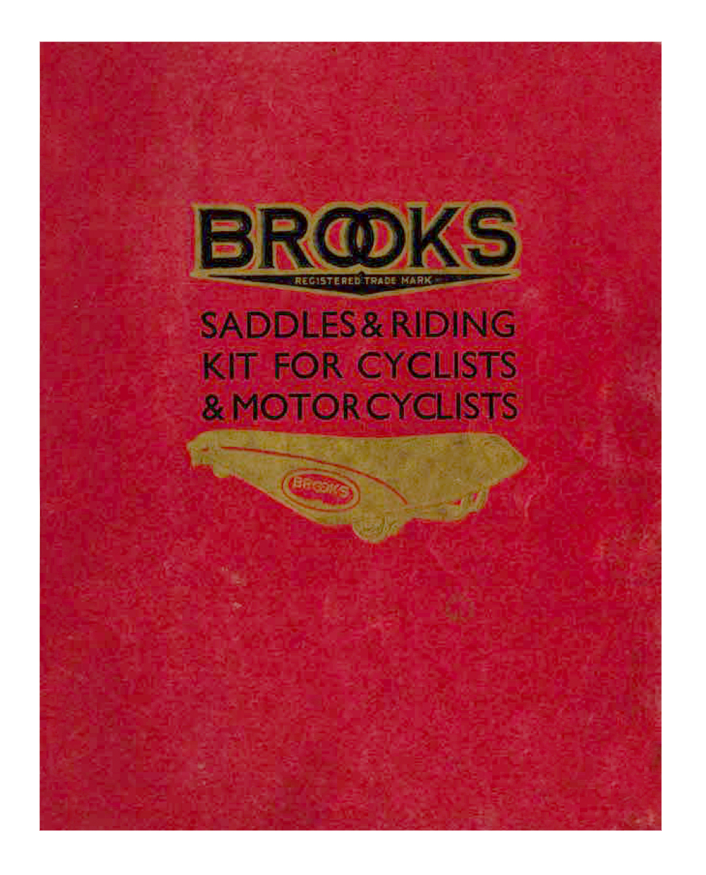 THE BROOKS BOOK 1933