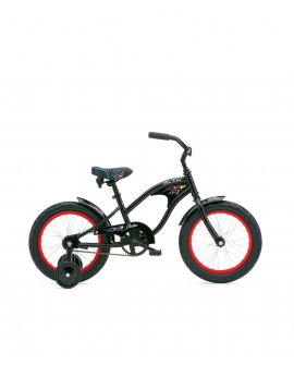"Electra MiniRod Kid 1 16"" Black Boys"