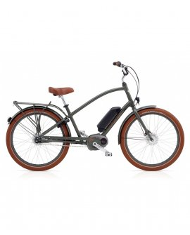 Electra Townie Go! 8i Men - Army Grey