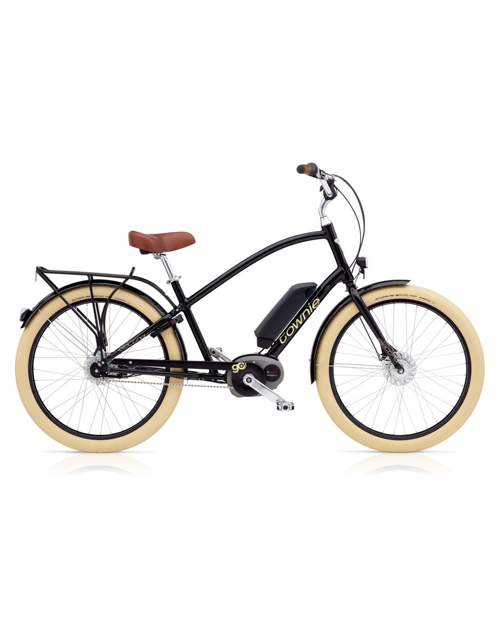 Electra Townie Go! 8i Men - Ebony