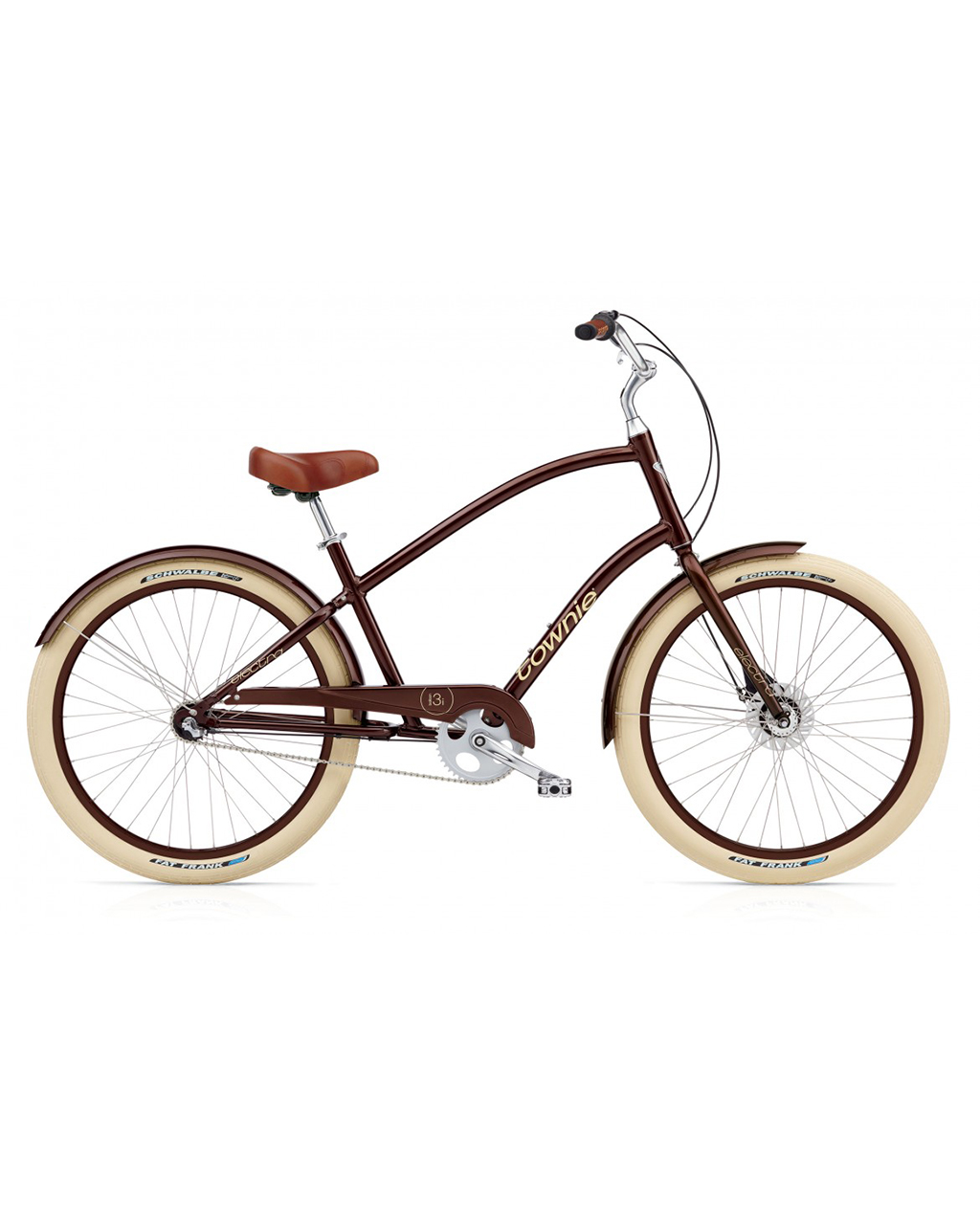 Electra Townie Balloon 3i Men's - Brown Metallic