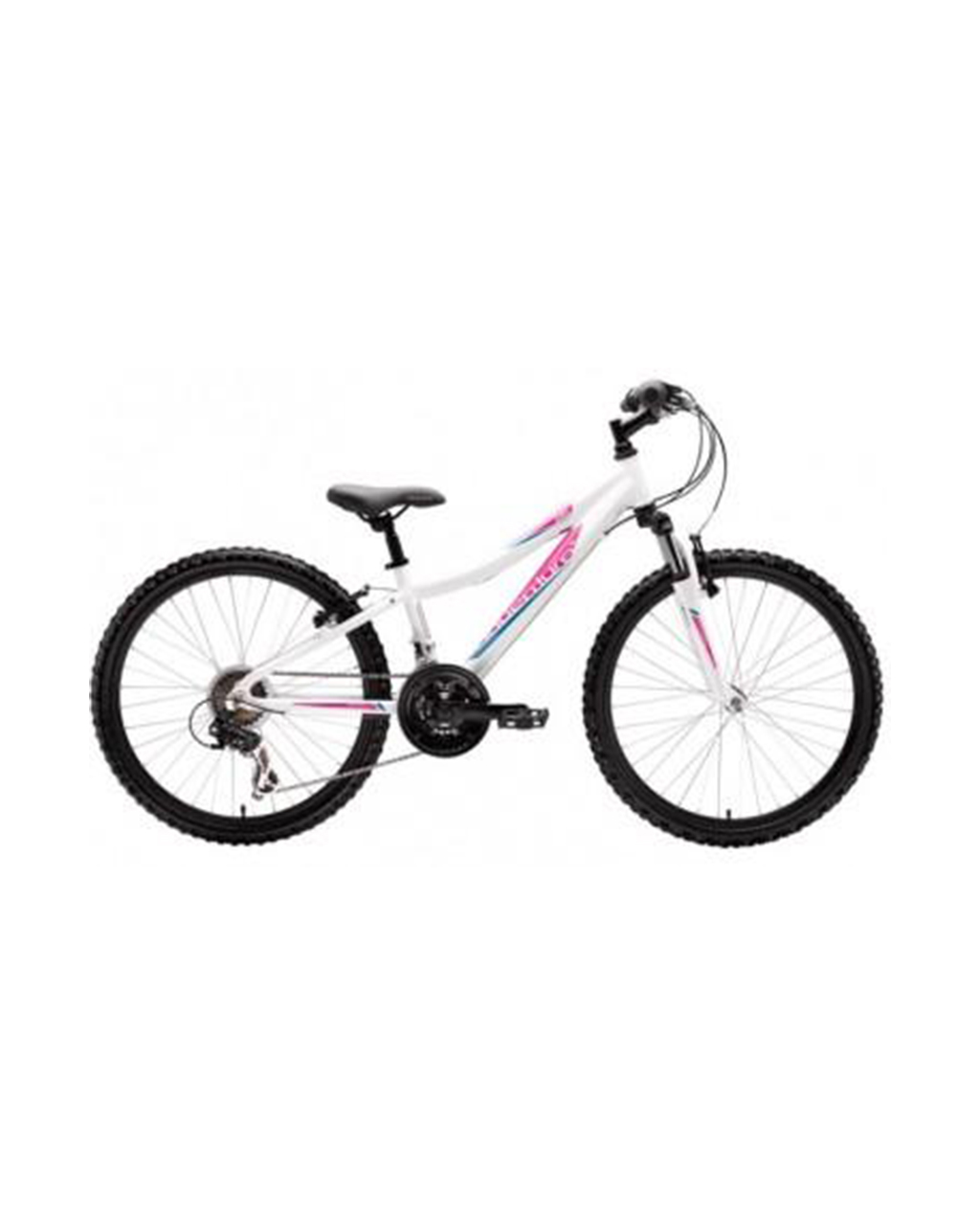 "Saracen ADVENTURE 2015 24"" Girls - White/Pink"